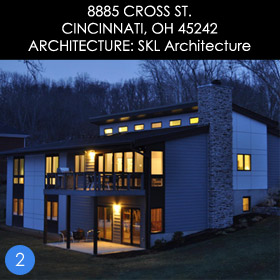 Cincinnati modern homes